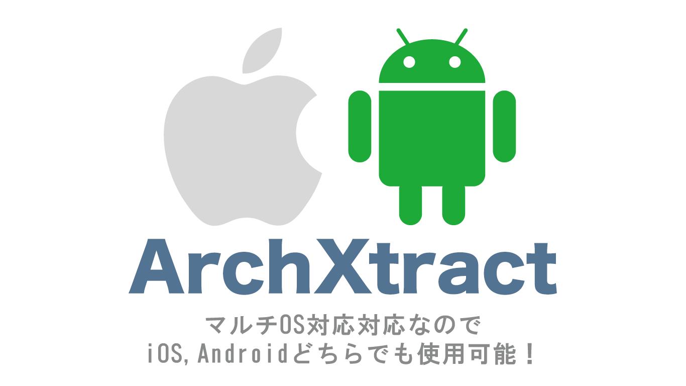 ArchXtract(MDM&MAM対応Zip解凍アプリ)はマルチOS対応